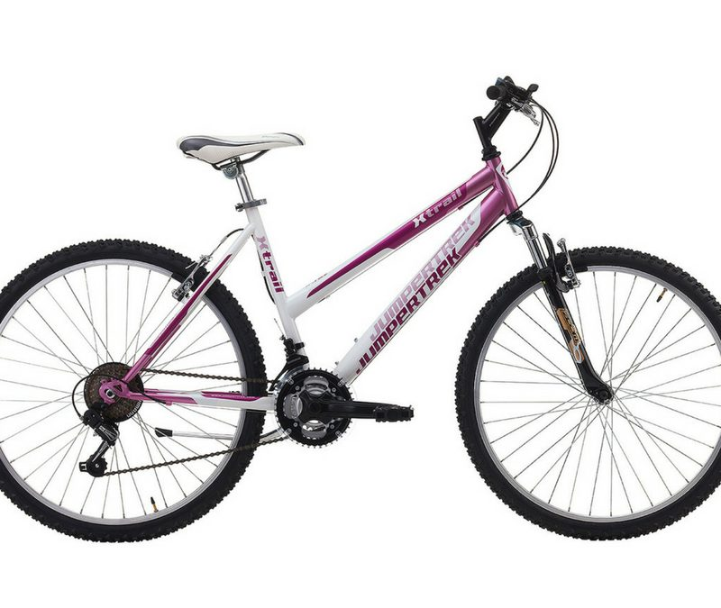 "Jumpertrek X-TRAIL Lady 26"" 18B Pink - White"