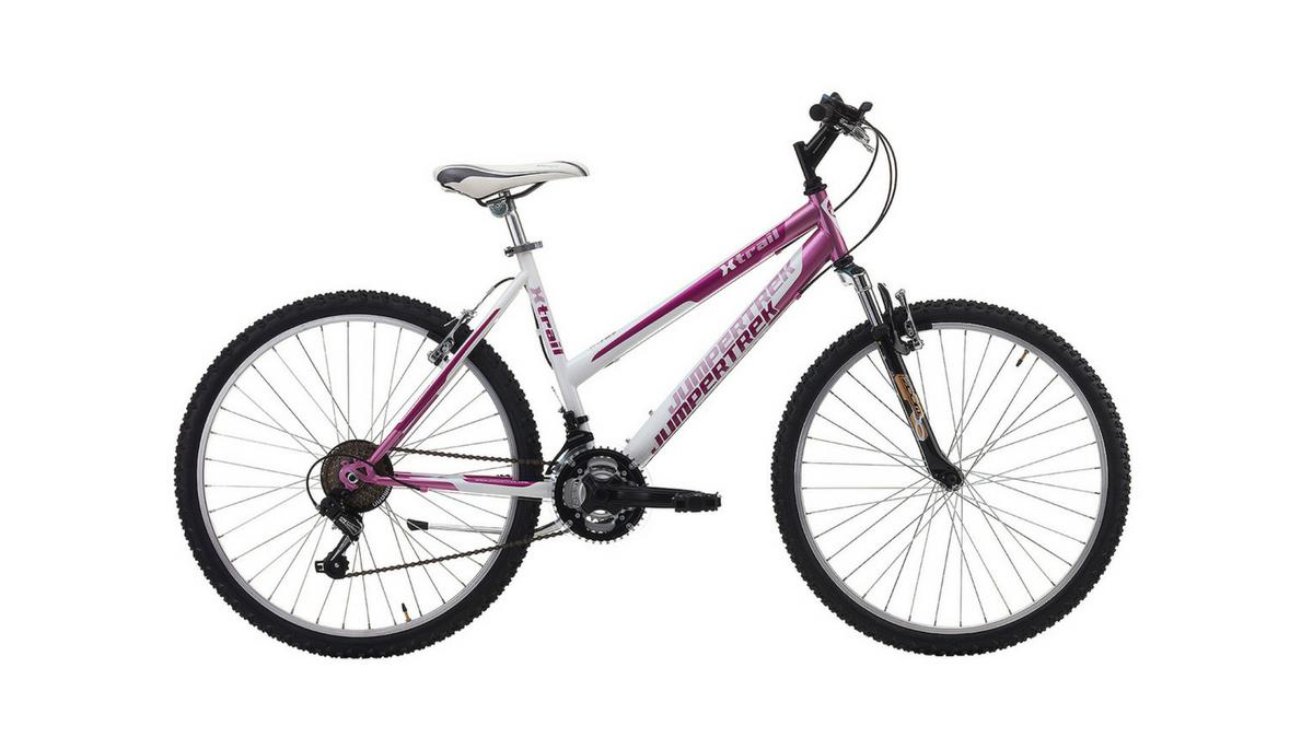 "Jumpertrek X-TRAIL Lady 26"" 18B Pink - White"