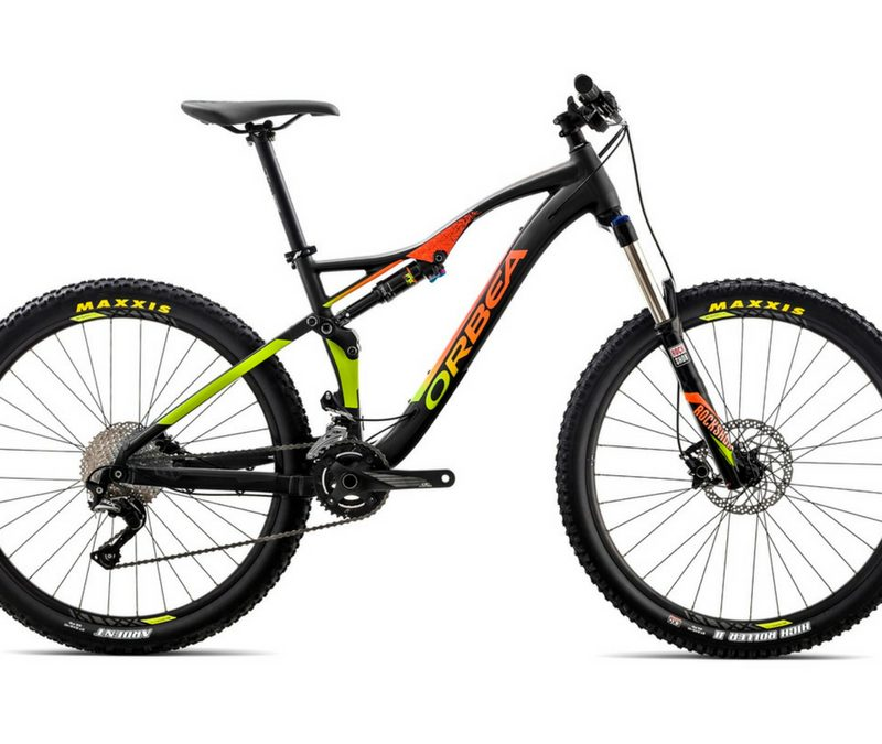Orbea OCCAM AM H50 BK-OR-PIS 2018