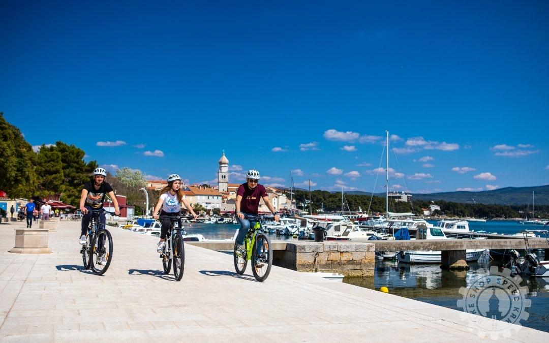 Iznajmite biciklu za 1.maj i uživajte u čarima otoka Krka
